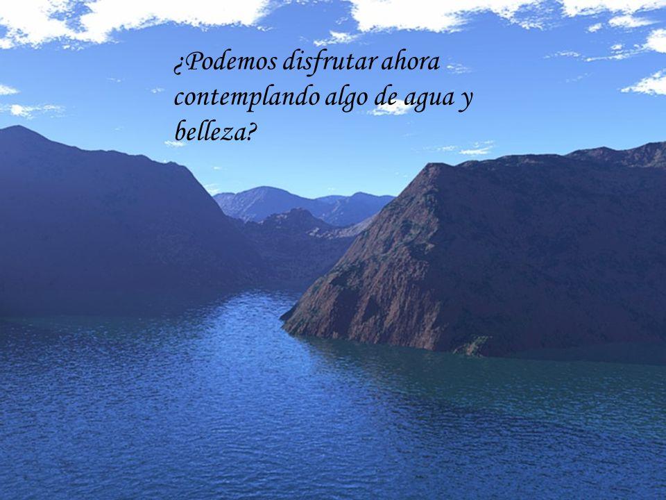 EL AGUA DULCE EN EL PERU * César Campos ¿Podemos disfrutar ahora contemplando algo de agua y belleza?