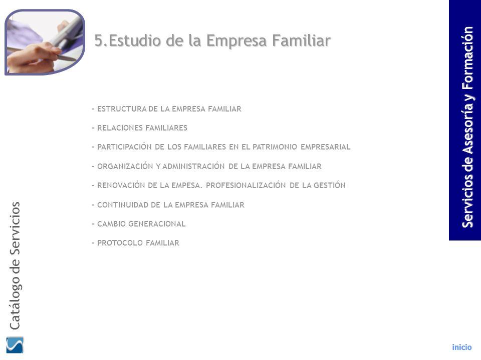5.Estudio de la Empresa Familiar - ESTRUCTURA DE LA EMPRESA FAMILIAR - RELACIONES FAMILIARES - PARTICIPACIÓN DE LOS FAMILIARES EN EL PATRIMONIO EMPRES
