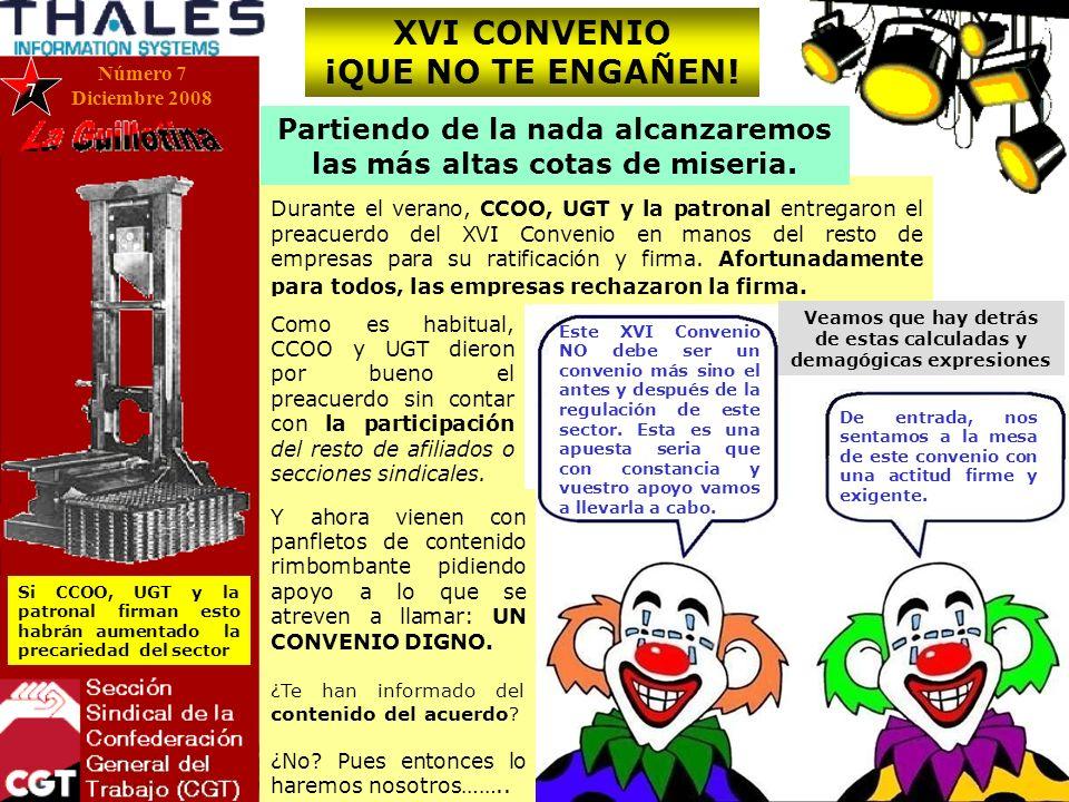 XVI CONVENIO ¡QUE NO TE ENGAÑEN.