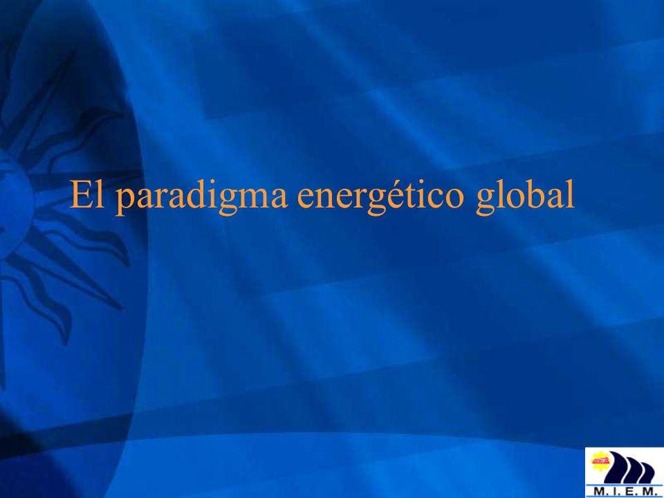 Principales acciones 2005 – 2008 (2) 2) Sector eléctrico: - Incorporación de fuentes renovables no tradicionales * eólica (16 MW + 20 MW) * biomasa (120 MW + 30 MW + 14 MW) * 6% de la potencia instalada en 2009 - Significativo aumento respaldo térmico (Punta del Tigre, 300 MW) * multicombustible (gas oil, gas natural) * posibilidad de combinar el ciclo - Puesta en funcionamiento de ADME: * primeros generadores privados * fijación del precio spot * transferencia del despacho de carga