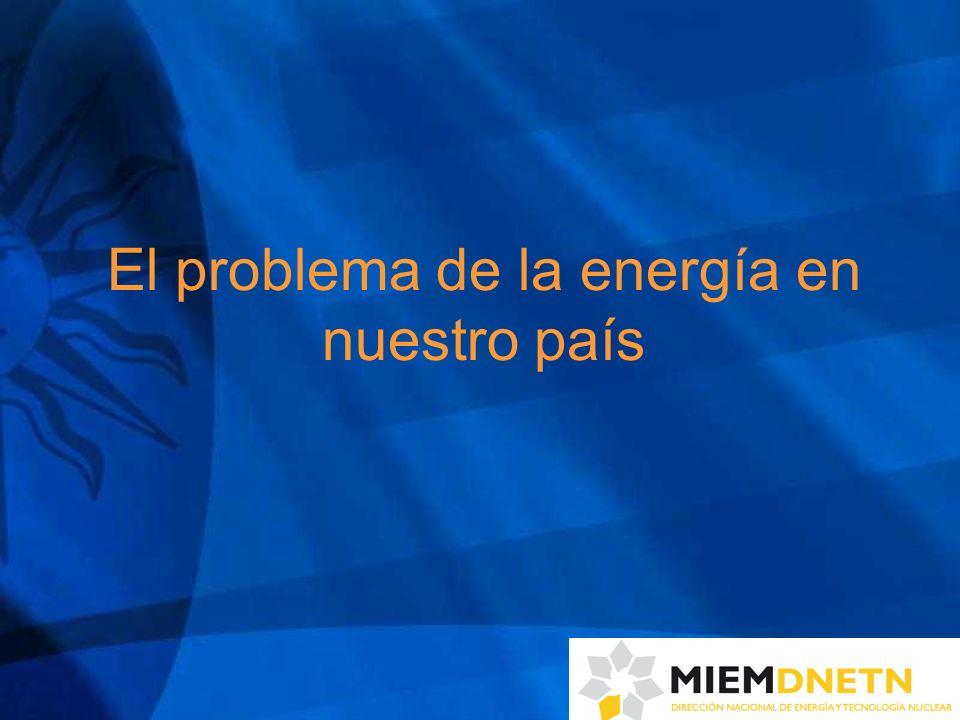 El problema de la energía en nuestro país