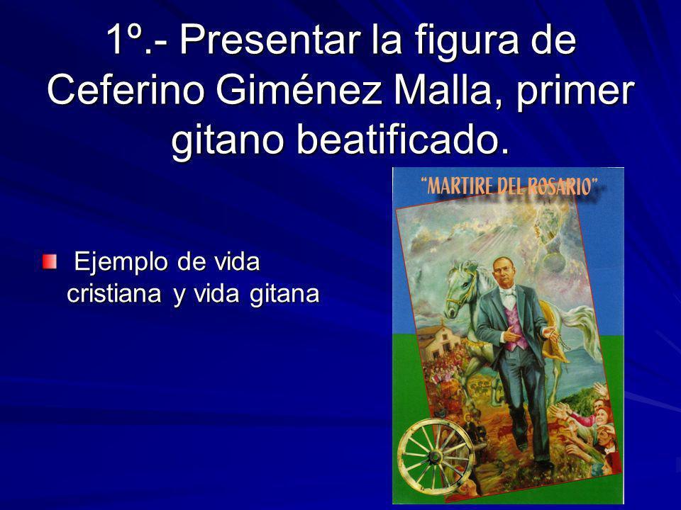 Objetivo Fundamental: Conseguir que la Buena Noticia de Jesucristo llegue al Pueblo Gitano. Que la Iglesia sea más Gitana