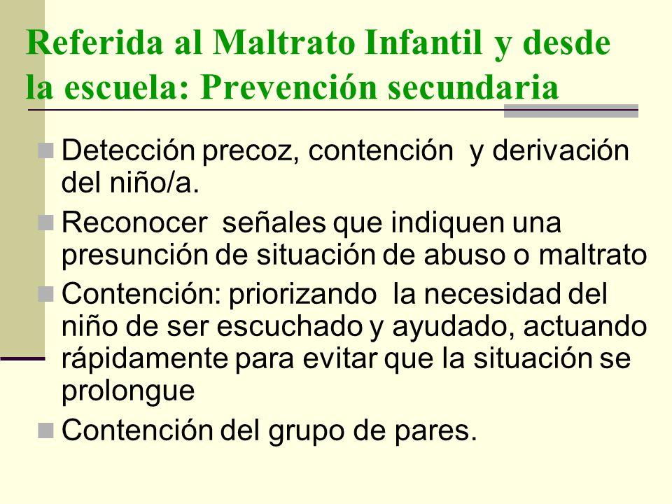 Prevención terciaria Busca el restablecimiento de la salud, la rehabilitación una vez que ha cursado la enfermedad.