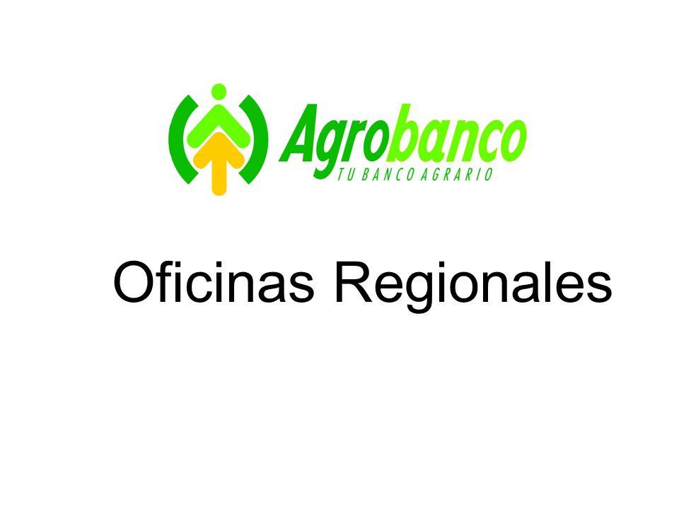 Oficinas Regionales