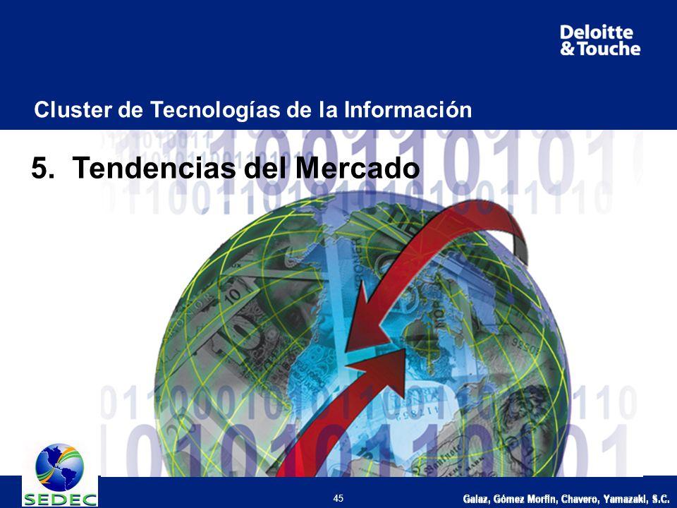 Galaz, Gómez Morfín, Chavero, Yamazaki, S.C. 45 Cluster de Tecnologías de la Información 5.