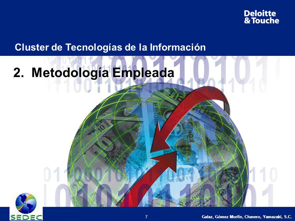 Galaz, Gómez Morfín, Chavero, Yamazaki, S.C. 7 Cluster de Tecnologías de la Información 2.