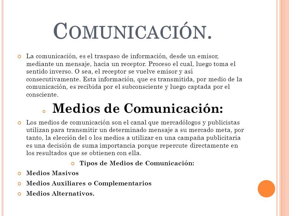 C OMUNICACIÓN. La comunicación, es el traspaso de información, desde un emisor, mediante un mensaje, hacia un receptor. Proceso el cual, luego toma el