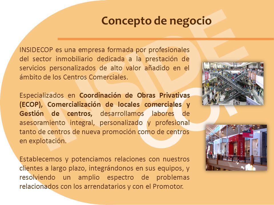 INSIDECOP es una empresa formada por profesionales del sector inmobiliario dedicada a la prestación de servicios personalizados de alto valor añadido