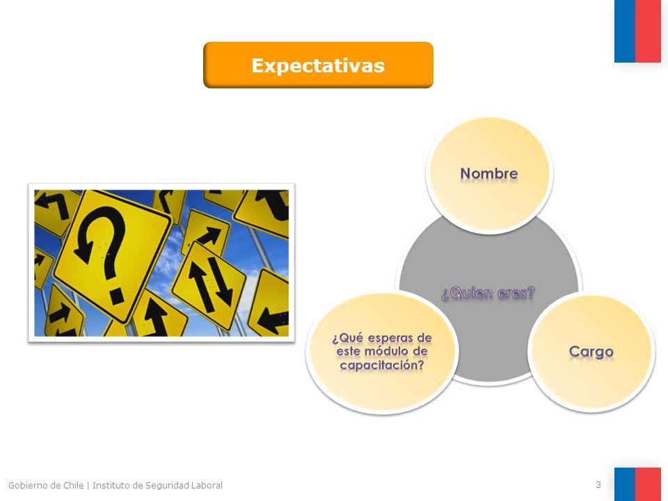 Gobierno de Chile   Instituto de Seguridad Laboral 4 El Instituto de Seguridad Laboral (ISL) se ha planteado el desafío de implementar el enfoque por competencias laborales en el desarrollo de capacitaciones en temas relacionados con la Prevención de Riesgos.