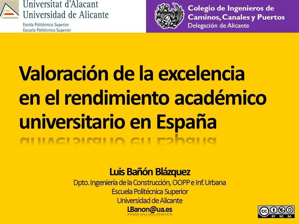 Colegio de Ingenieros de Caminos, Canales y Puertos Delegación de Alicante