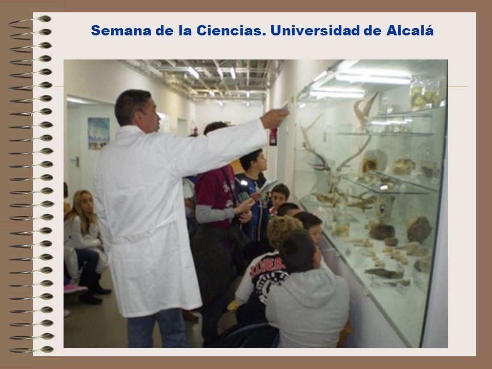 Semana de la Ciencias. Universidad de Alcalá