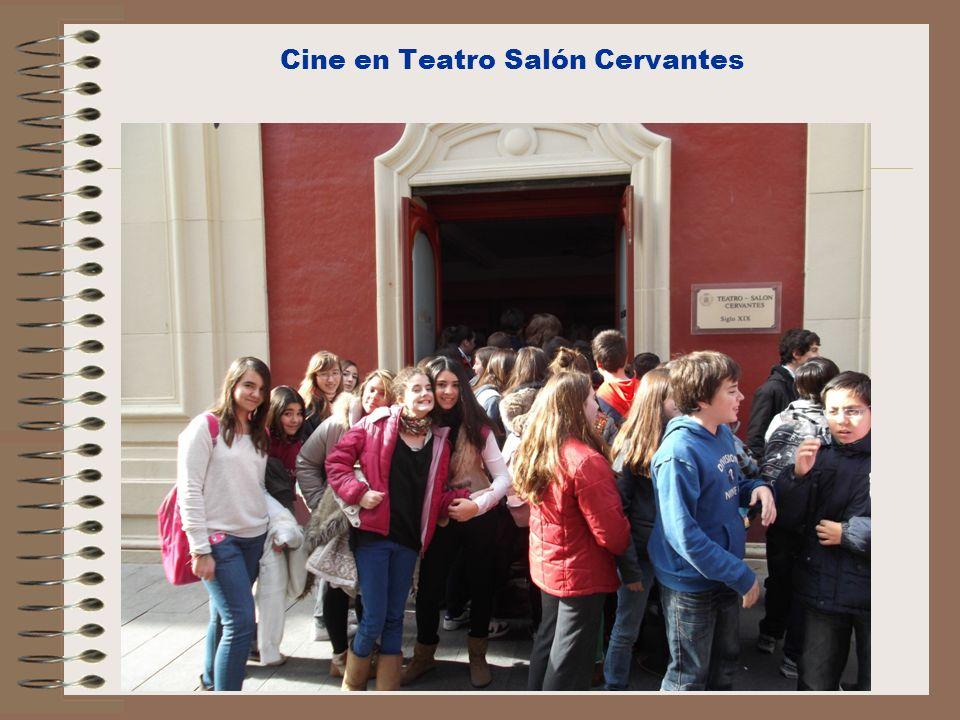 Cine en Teatro Salón Cervantes