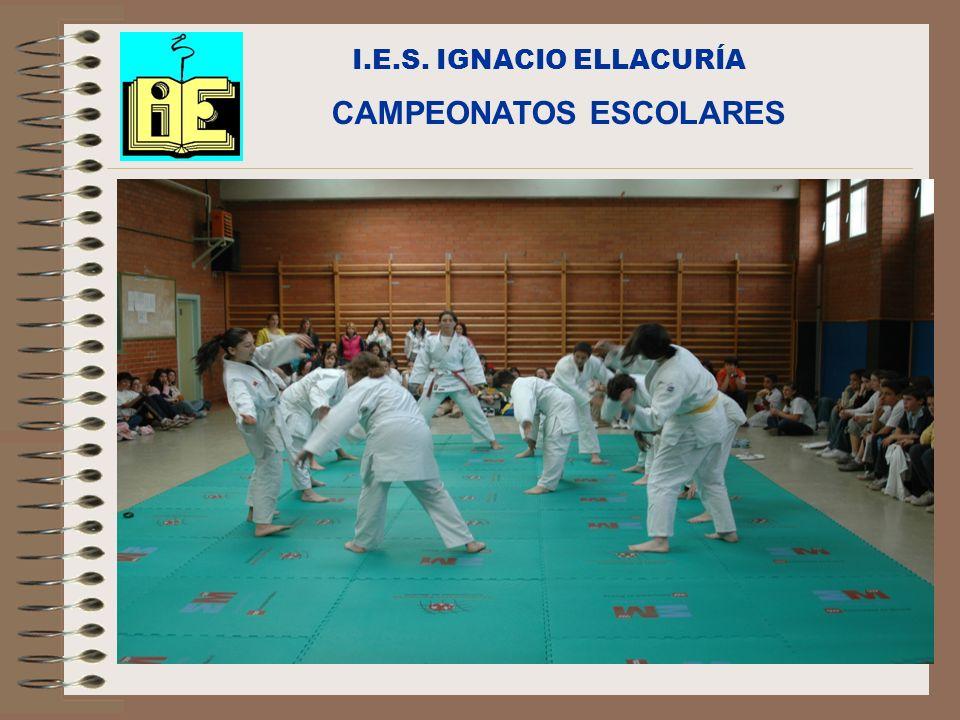 I.E.S. IGNACIO ELLACURÍA CAMPEONATOS ESCOLARES