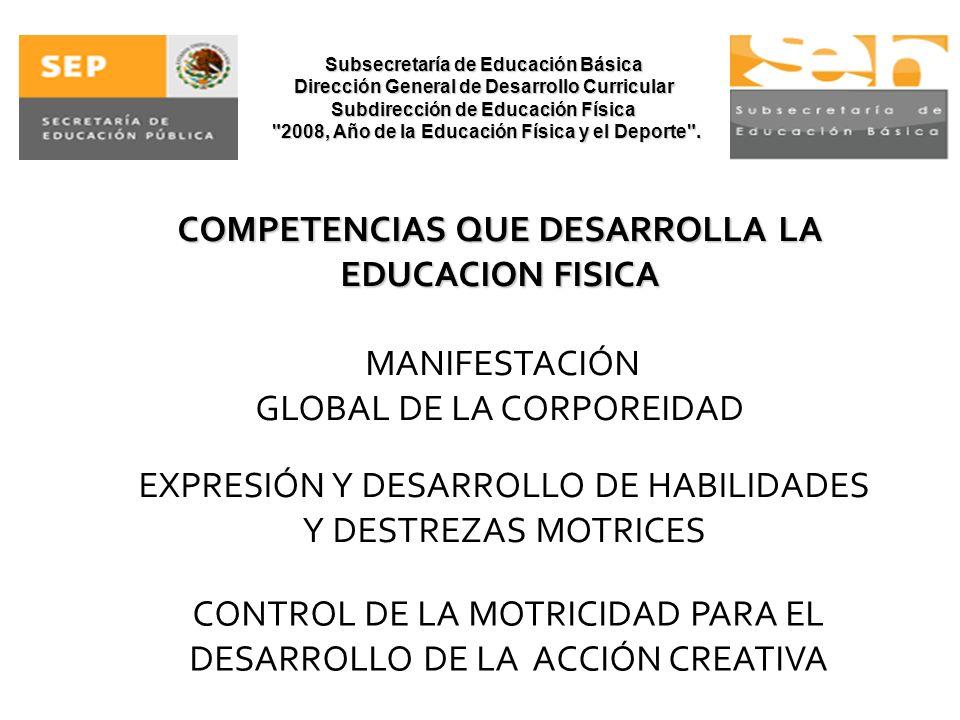 Subsecretaría de Educación Básica Dirección General de Desarrollo Curricular Subdirección de Educación Física