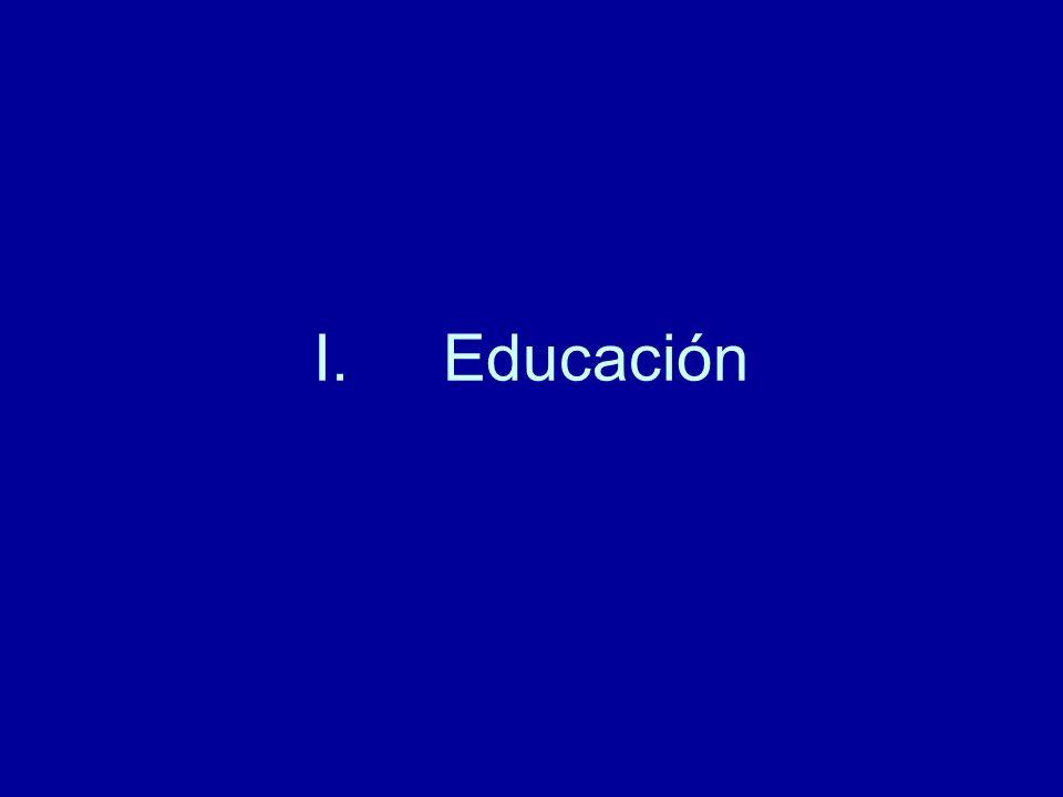 I.Educación