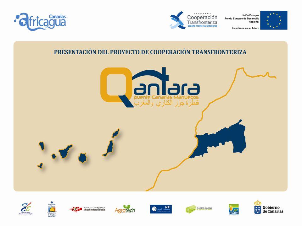 QANTARA es un proyecto aprobado por la Unión Europea en el marco de la 2 nda convocatoria POCTEFEX - Programa de Cooperación Transfronteriza España-Fronteras Exteriores, cofinanciado al 75% por los fondos FEDER.