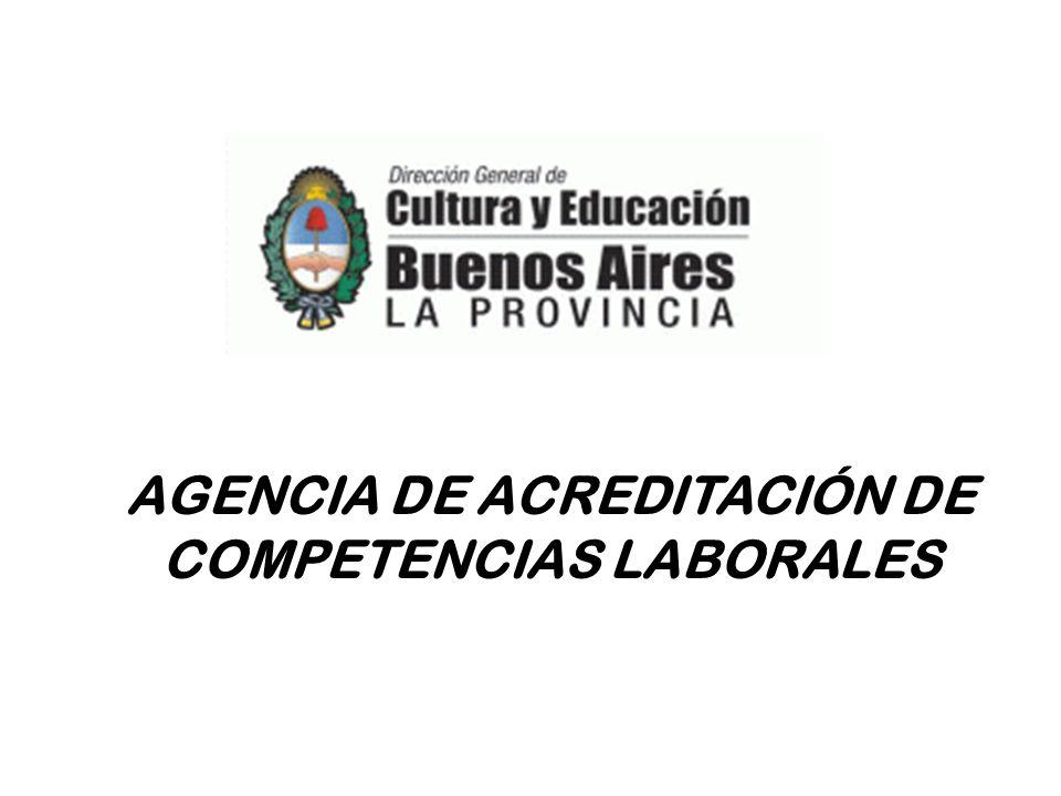 AGENCIA DE ACREDITACIÓN DE COMPETENCIAS LABORALES