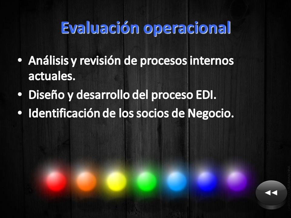 Evaluación operacional
