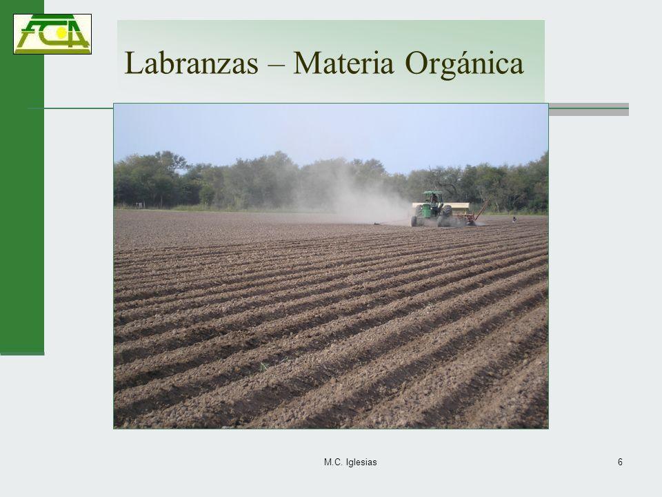 Labranzas – Materia Orgánica M.C. Iglesias6