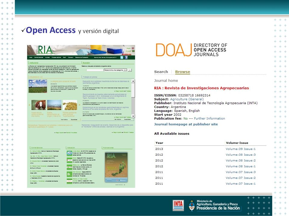 Open Access y versión digital