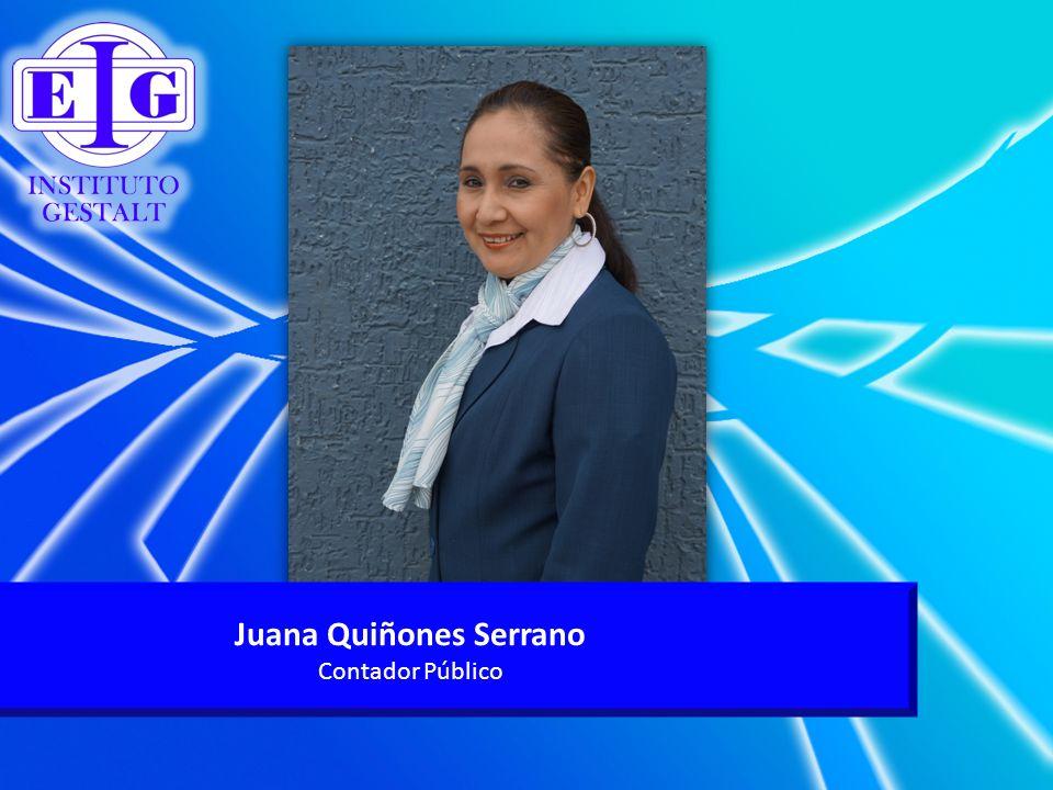 Juana Quiñones Serrano Contador Público