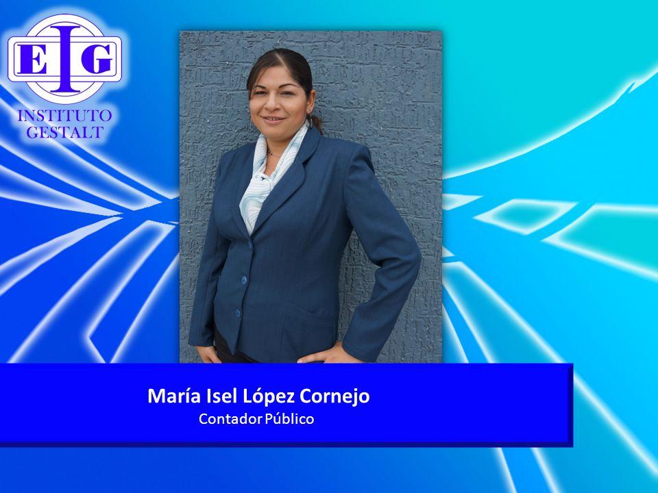 María Isel López Cornejo Contador Público