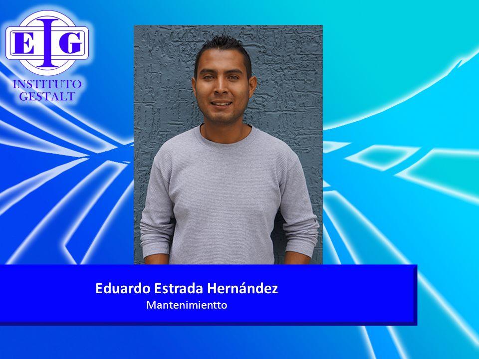 Eduardo Estrada Hernández Mantenimientto