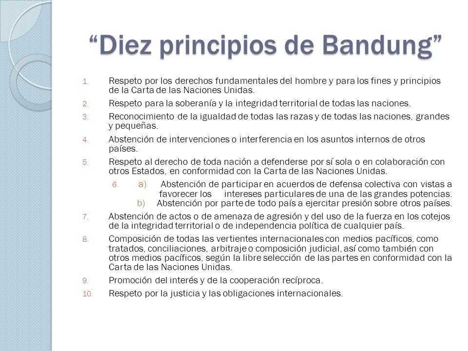 Diez principios de Bandung 1.