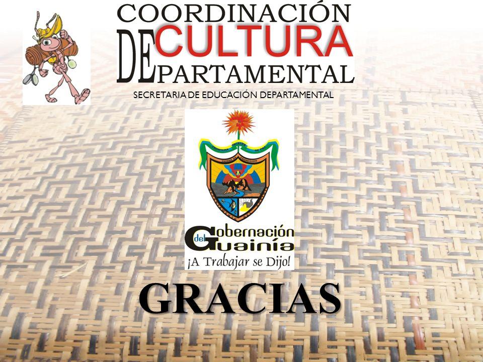 GRACIAS SECRETARIA DE EDUCACIÓN DEPARTAMENTAL