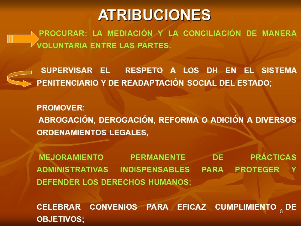 9 FORMULAR PROGRAMAS, PROPONER ESTRATEGIAS PARA CUMPLIMIENTO DE INSTRUMENTOS INTERNACIONALES SUSCRITOS POR MÉXICO EN DH; ESTABLECER CANALES DE COMUNICACIÓN CON ORGANIZACIONES NO GUBERNAMENTALES (ONGS) NACIONALES E INTERNACIONALES EN DERECHOS HUMANOS; CELEBRAR CONVENIOS CON INSTANCIAS FEDERALES, ESTATALES, MUNICIPALES Y ONGS PARA GARANTIZAR LA ATENCIÓN Y SALVAGUARDAR A LAS VÍCTIMAS DEL DELITO Y ABUSO DE PODER.
