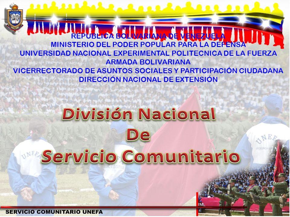 REPUBLICA BOLIVARIANA DE VENEZUELA MINISTERIO DEL PODER POPULAR PARA LA DEFENSA UNIVERSIDAD NACIONAL EXPERIMENTAL POLITECNICA DE LA FUERZA ARMADA BOLI