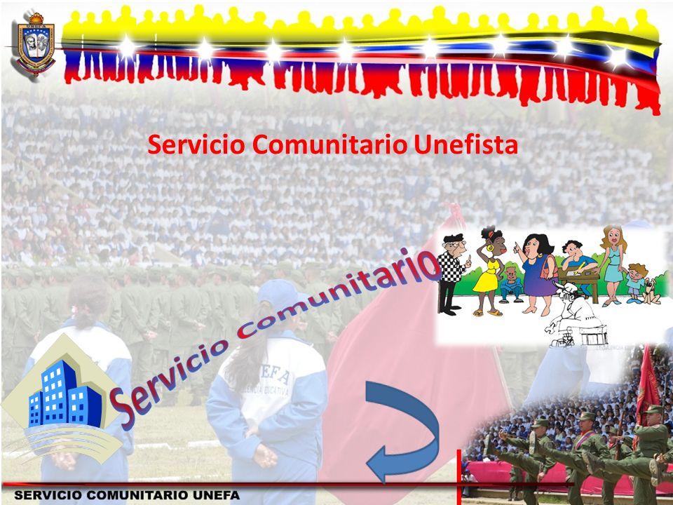 Servicio Comunitario Unefista