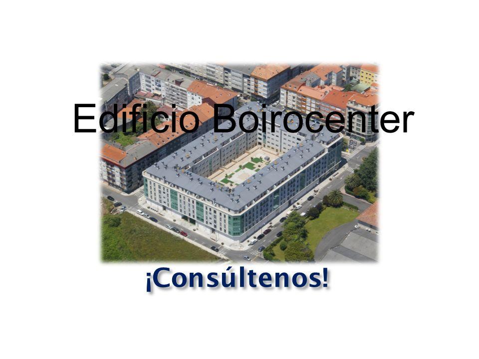 ¡Consúltenos! Edificio Boirocenter