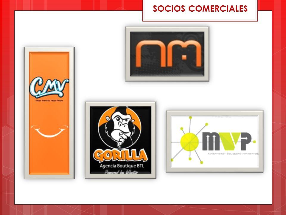 SOCIOS COMERCIALES
