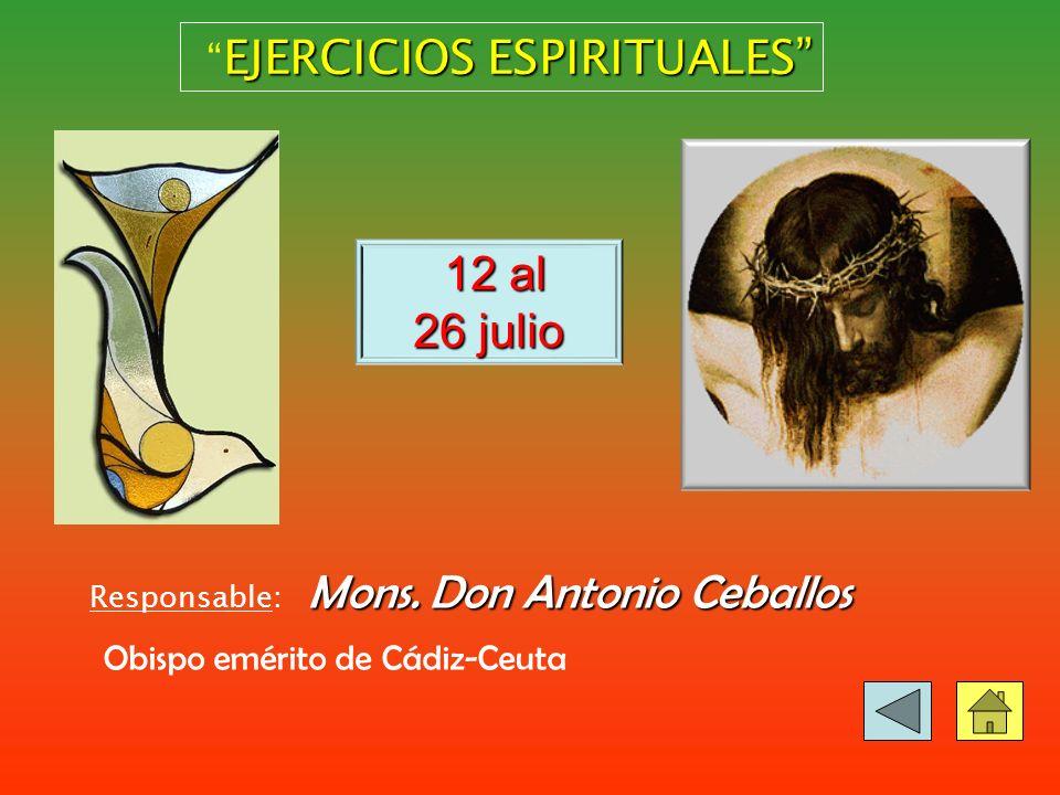 14-28 julio Infancia y Juventud Campamento infantil Edades: de 7 a 8 años.