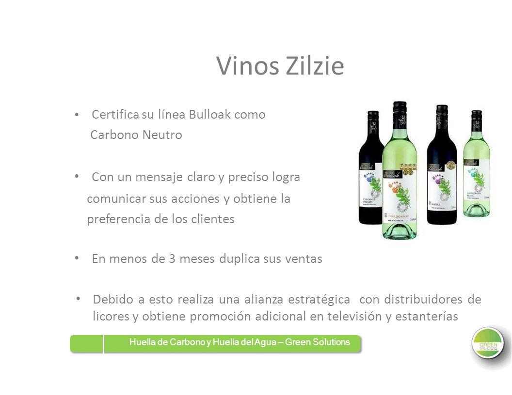 Vinos Zilzie Certifica su línea Bulloak como Carbono Neutro Con un mensaje claro y preciso logra comunicar sus acciones y obtiene la preferencia de lo