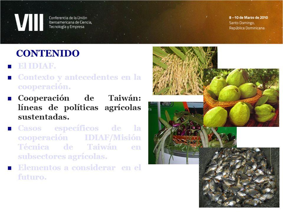 Elevar la producción y productividad del sector agropecuario, especialmente en el subsector arrocero, a través de la modernización tecnológica.