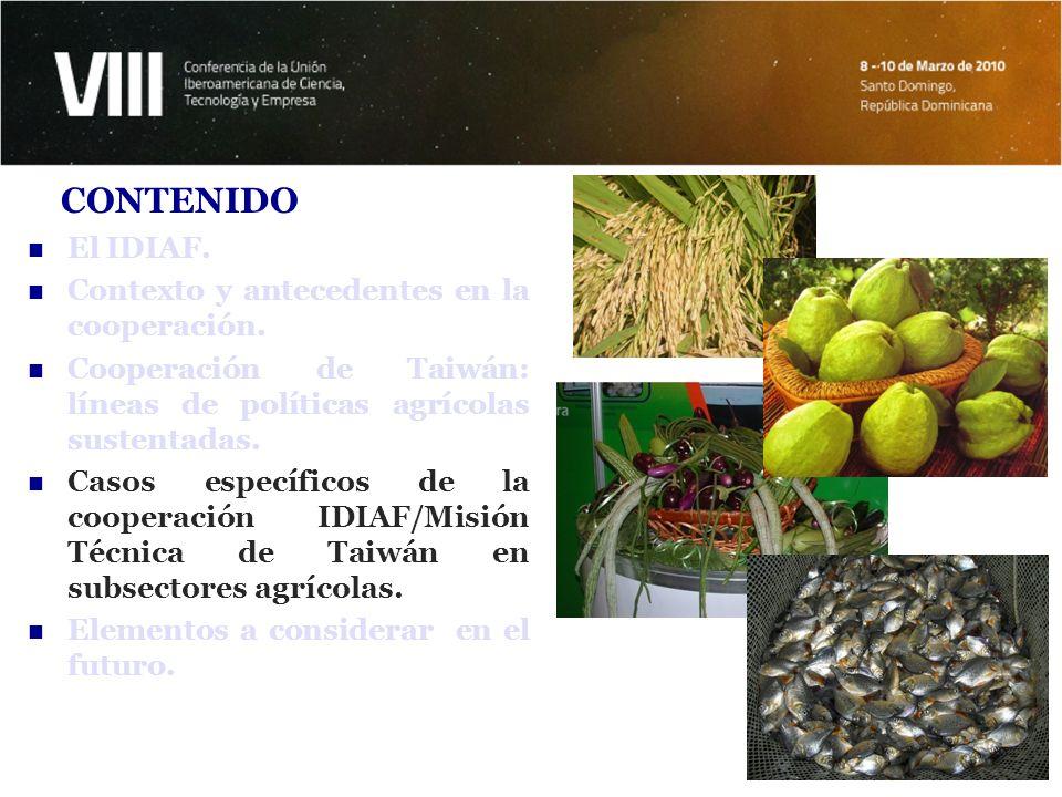 ÁREAS DE COOPERACIÓN: CASO DEL ARROZ Agrocadena más importante de la agricultura dominicana, mueve más de RD$25,000 millones por año.