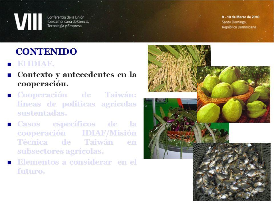 A comienzos de la década del 1960, se reconoce la necesidad de impulsar el desarrollo agrícola y su potencial.