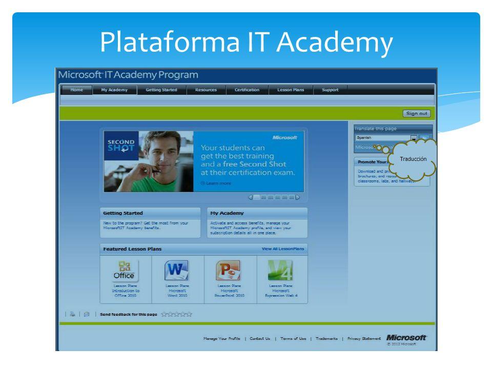 Plataforma IT Academy