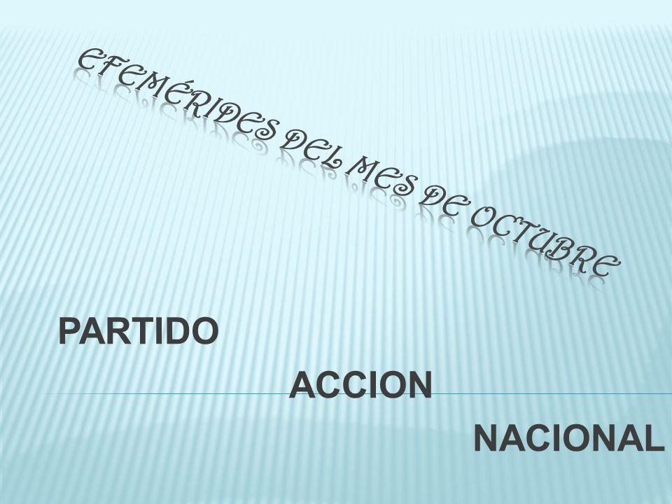 PARTIDO ACCION NACIONAL