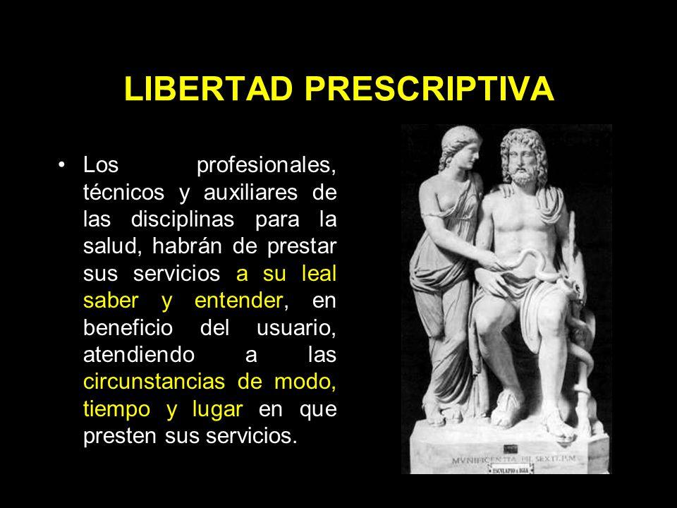 OBJETO Derecho al libre ejercicio de la profesión: –Restringido a actividades lícitas.