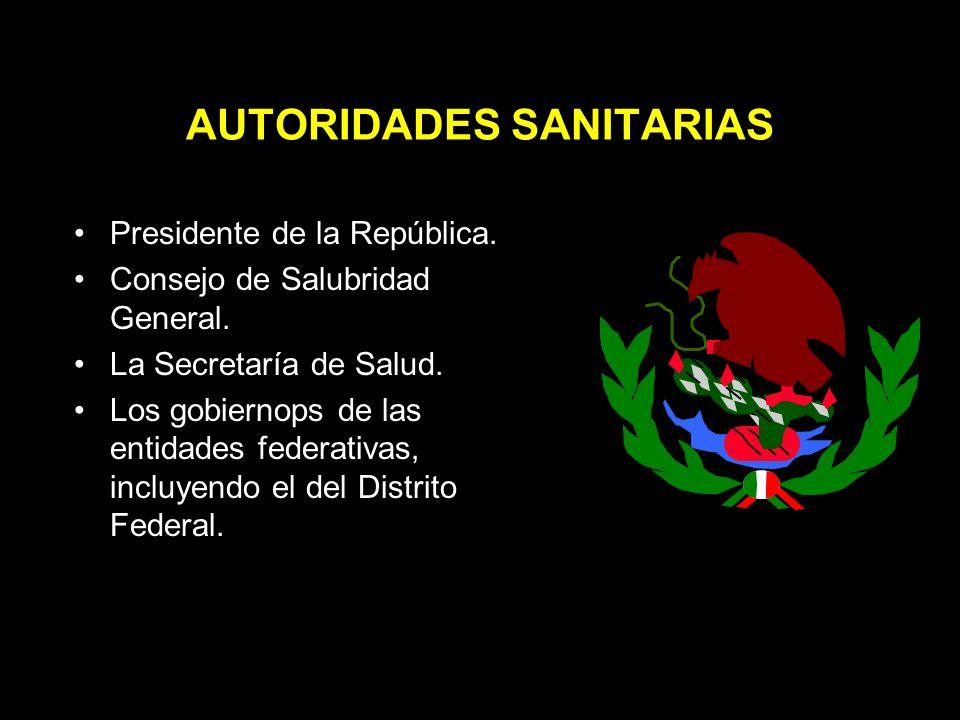 Salubridad General Se definen las materias de salubridad general de la República.