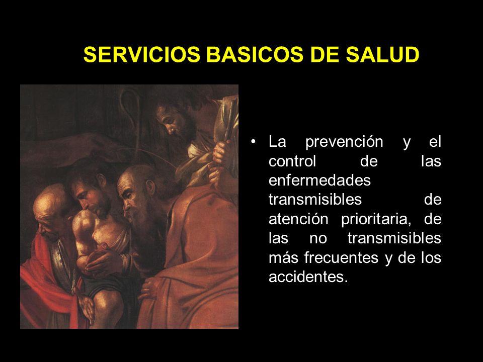 SERVICIOS BASICOS DE SALUD La educación para la salud, la promoción del saneamiento básico y el mejoramiento de las condiciones sanitarias del ambiente.