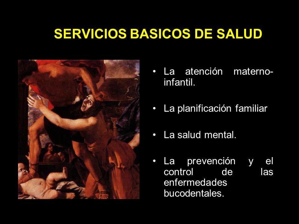 SERVICIOS BASICOS DE SALUD La atención médica, que comprende actividades preventivas, curativas y de rehabilitación, incluyendo la atención de urgencias.