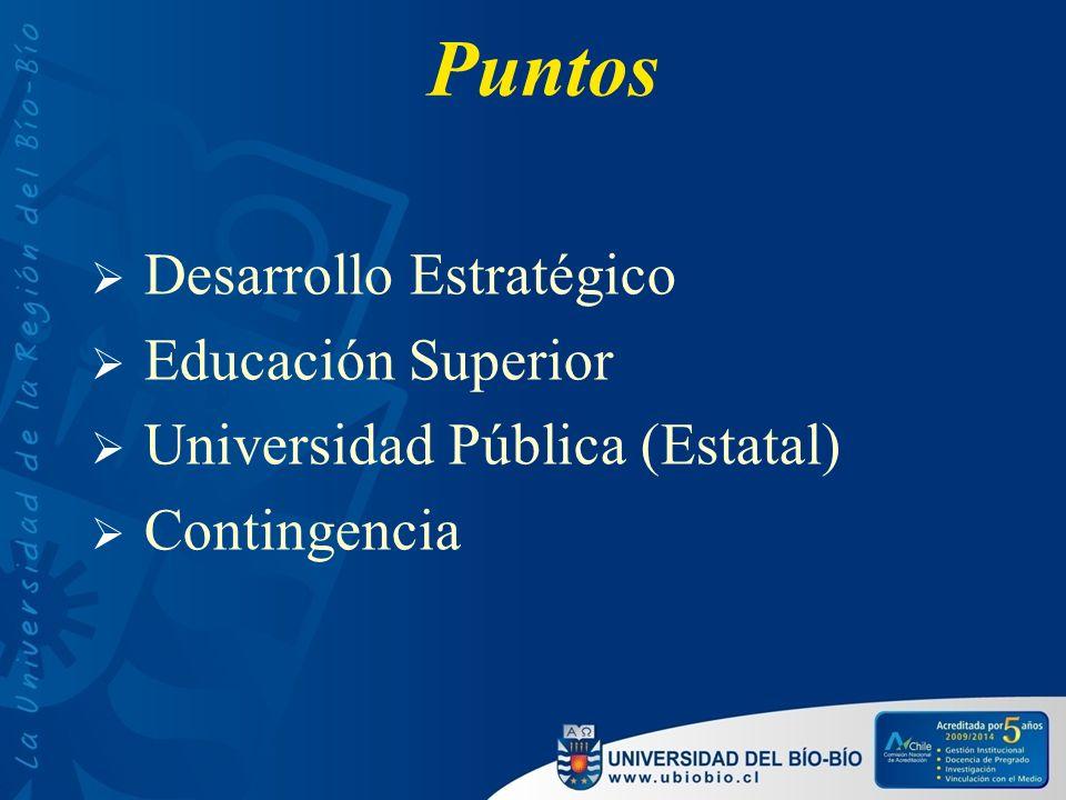 Las universidades del Estado se desenvuelven en un sistema mixto y sin regulación Fte.: Cuech, 2009 con datos Mineduc.