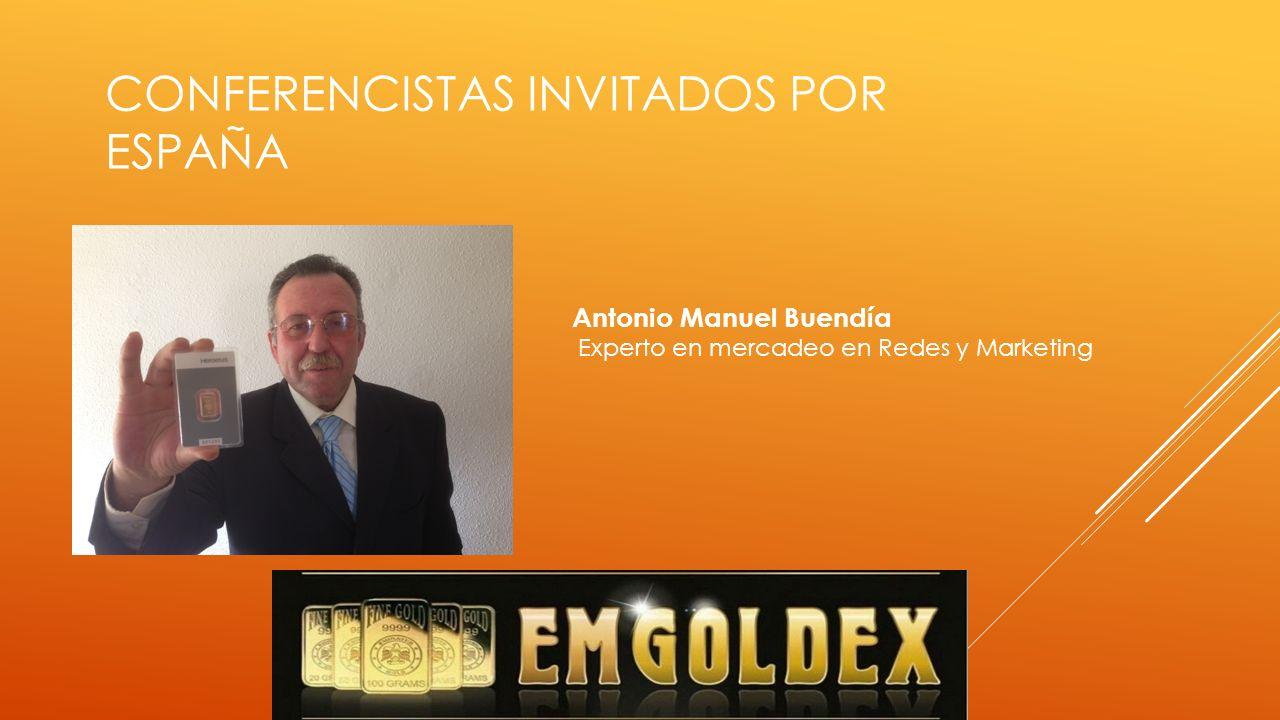 ESPAÑA Francisco Pérez Especialista en el desarrollo y persuasión, utiliza como herramientas las habilidades para el crecimiento en redes de mercadeo.