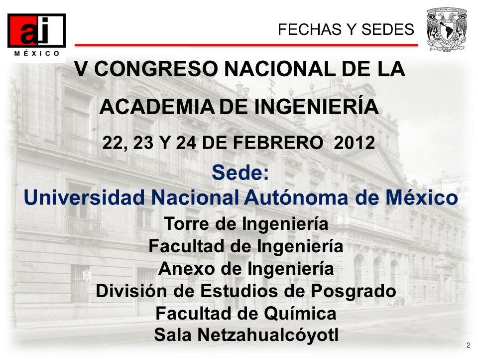 3 COMITÉ ORGANIZADOR Presidente HonorarioDr.José Narro Robles Presidente EjecutivoDr.