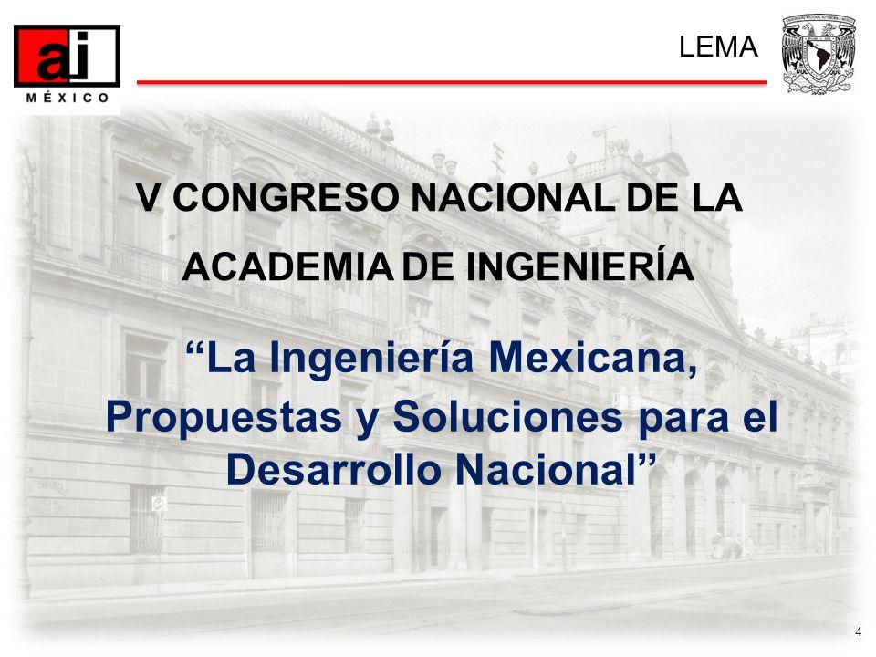 5 Revisar las propuestas de solución de la Ingeniería, Academia e Investigación en el planteamiento de soluciones para el desarrollo nacional, integrando los criterios y puntos de vista más relevantes.