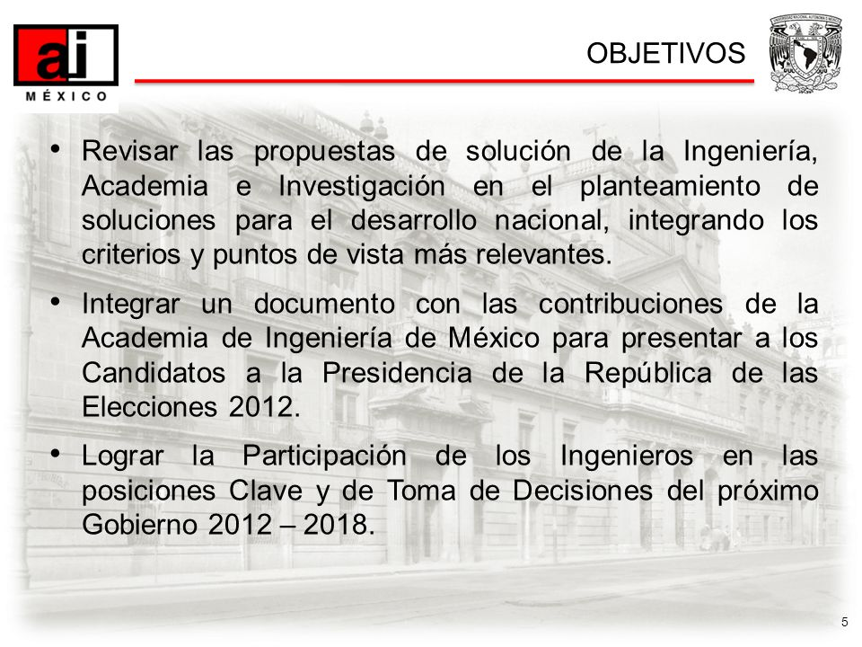 6 Miércoles 22 de Febrero 2012 Inauguración y Conferencias Magistrales9 – 14 hrs.